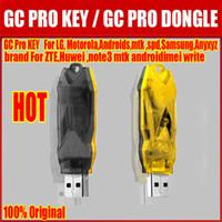 Wholesale 100 Original new GC pro key For LG Motorola Samsung MTK SPD ANYXYZ BRAND For ZTE Huawei Note3 Android imei write