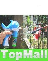 automatic blow - LAI Children s toys blowing bubbles gun cartoon dolphins blowing bubbles automatic bubble machine set
