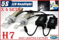 belt drive systems - Fast Sets H7 W LM S th LED Headlight System Kit LUMILED LUXEON ZES CHIPS SMD Fanless Aluminum Belt Driving Lamp Bulb Single Beam