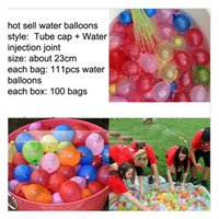 Wholesale Hot sell water injection toy balloon rapid water injection balloon water balloons