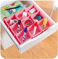 plastic drawer storage box - Guaranteed DIY Plastic Storage Box Set Style Organizer for Clothes Wardrobe Drawer M L Size Free Combination Rack