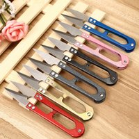 Wholesale Useful Trimming Scissors Nippers U Shape Clippers Sewing Embroidery Thrum Yarn