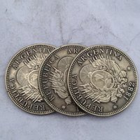 argentina gifts - Argentina Coin piece differ Crafts Promotion Cheap Factory Price nice home Accessories Silver Coins