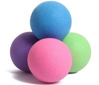 Wholesale cm Sports fitness plantar fascia muscle relaxation ball hedgehog foot Silica gel TPE tennis F149