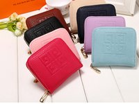 Wholesale New Arrival Women Mini Wallets Luxury Lady Short Purse Zipper Handbag High quality Brand Designer Cluch bag Card Holder Small Wallet