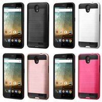 Wholesale Newest Lars Mars Hybrid Armor Cases for ZTE Zmax Pro Z981 MetroPCS ZTE Z988 Kirk Imperial Max N9132 Avid Plus Z828 Uhura N817