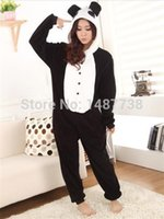 Wholesale Panda Onesies Pajamas Cartoon Costume Cosplay Pyjamas Adult Animal Onesies For Party Dress Halloween Pijamas