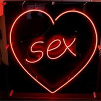 Wholesale Sex Glass DIY LED Neon Sign Flex Rope Neon Light Indoor Outdoor Decoration RGB Voltage V V
