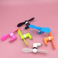 Wholesale Top quality best price OTG Android iphone Phone Fan Xiaomi th Micro USB MINI Portable Fan with Opp bag