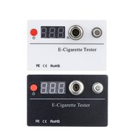 Wholesale E cigarette Resistance Tester Ohm Reader Meter Resistance Voltage Tester Threaded for Atomizer Cigarette Accessories