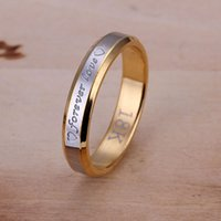 Wholesale hot sale high quality18k forever love ring new Women fine sterling silver charm crystal jewelry ring fashion jewelry CR096