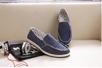 low price jeans - New arrival Low price Mens Breathable High Quality Casual Shoes Jeans Canvas Casual Shoes Slip On men Fashion Flats Loafer