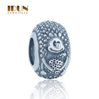 best foods for men - 925 Sterling Silver animal Circles Antique Hedgehog Charm Best Gift For Lover men jewelry European Snake Chain Bracelets Charms T182