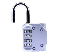 Wholesale DHL Silver Color Combination Padlock Luggage Suitcase Bag Travel Security Lock New