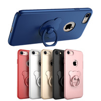 bearing surface - iPhone7 Case Cover New Arrival With Degree Rotating Cut Bear Ring Kickstand Case iphone Plus Matte Surface Colors