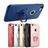 bear case iphone - iPhone7 Case New Arrival With Degree Rotating Cute Bear Ring Kickstand iphone7 Plus Cases Matte Surface Colors