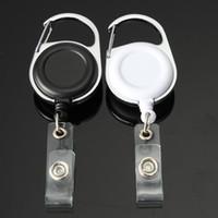 200 шт Выдвижной Прицепные Key Ring Chain Reel ID талреп Name Tag карты Знак держатель Reel Recoil Пояс Key Ring клип