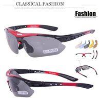 Wholesale Fashion Cycling Eyewear Bicycle Outdoor Sports High Quality Sunglasses Eyewear Goggle Sunglasses Lens Polarizing