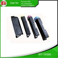best compatible toner cartridges - TK590 Compatible Color Toner Cartridge for Kyocera Mita FS C5250DN FS C2026MFP C2126MFP hot sales with best quality