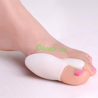Wholesale Silicone Gel Toe Separator For Bunions Hallux Valgus Foot Care Via DHL Shipping