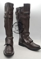 Wholesale MovieCoser High Quality Custom Made Star Wars Anakin Skywalke Cosplay Shoes