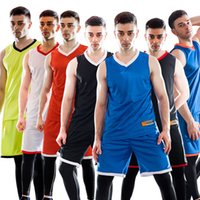 Wholesale New Men High Quality Athletic Apparel Running Sets Baskteball Jersey Quick Drying Suits