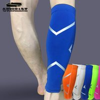Wholesale Men Women Cycling Leg Warmers Breathable Basketball Football Running Compression Leg Sleeve Knee pad Sports Protection