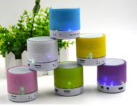 Wholesale A9 glare colorful wireless portable Bluetooth speaker subwoofer mobile phone mini speaker speakers