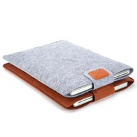 Wholesale 2016 hot Premium Soft Sleeve Bag Case Notebook Cover for quot quot quot Macbook Air Pro Retina Ultrabook Laptop Tablet PC Anti scratch C