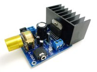 ac power amplifier - AC DC12V TDA7297 Rev A Low Noise mini home Power Audio Amplifier Board W Dual Channel Digital Stereo high SNR Cooling fin