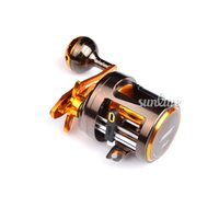 al forging - Sunlure BB Fishing Reel CNC machined forged AL Alloy Body Casting Reel Aluminum Stainless Steel Spinning Reel CA300