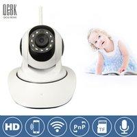 baby intercom systems - P Wireless Control Baby Monitor Talk Back Intercom IP Camera With WiFi IR Night Vision Babyfoon Camera Family Security System