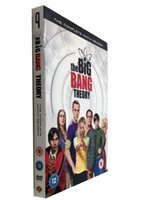 Wholesale New Release The Big Bang Theory The Ninth Season Nine Disc Set DVD Uk Version Region dvd