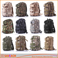 Wholesale 12 Colors Men Women Outdoor Military Army P Tactical Backpack Molle Camping Hiking Trekking Camouflage Bag Travel Backpack