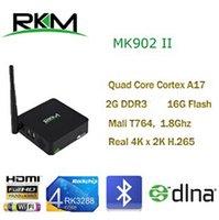 Wholesale Rikomagic MK902II Quad Core Android RK3288 G DDR3 G ROM Bluetooth Dual Band Wifi n MK902II G