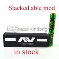 best stack - Best mechanical mod AV Gyre slow fast twist mod Cool Avidlyfe Twisted design Stacked Able at low price by kindbright