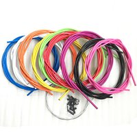 Wholesale 2016 Newest Mountain Bike Bicycle Brake Cable Set MTB Disc Brake Line M MM Bicycle Parts Colors