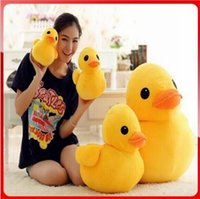Cheap 20cm Lovely Duck Plush Toys Yellow Duck Doll Rubber Duck Doll Plush Toys for Children Classic Toys Beautiful home furnishing articles