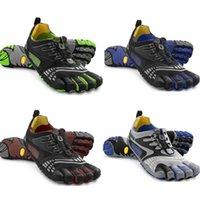 Wholesale Men s M3782 KomodoSport LS Five Fingers Mountain Rock Climbing Hiking Shoes Man Flats Athletic Fingers Fitness Shoes
