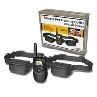 Wholesale NEW LCD Shock vibra remote no bark pet dog training collar M D LV