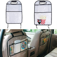 Wholesale Auto Car Back Seat Boot Organizer PVC Holder Multi Pocket Travel Storage Bag Hanger for Auto Capacity Storage Pouch ipad