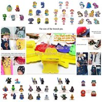 button badge - DHL or EMS South Park Inside Out Star Wars Lego Minions Avengers My Little Pony Badges Pin Button Brooches Cartoon Badge for Kids Party Gift