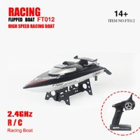 aircraft speed - FT012 Upgraded FT009 G Brushless Water Cooling High Speed Racing RC Boat with Capsize Recovery BL