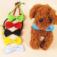 Wholesale 100pcs Dog Neck Tie Dog Bow Tie Cat Tie Pet Grooming Supplies Pet Headdress Flower Dog Supplies