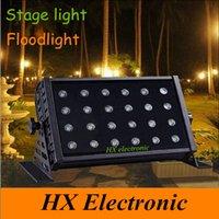 background color - 24 W background Lamp flood Light LED RGB Floodlight Waterproof IP68 LED DMX Stage Light Outdoor LED Floodlights led Wall Washer light