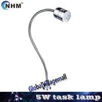 aluminum chrome plating - NHM W W V V LED gooseneck task work lamp CNC miller lathe other industrial machine tool lights