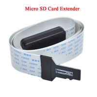 Wholesale 1Pcs cm Micro SD Card Extension Cable Connector TF Extender For Car DVR GPS