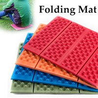 Wholesale Portable Folding Foldable Camping Mat XPE Foam Outdoor Hiking and Camping Seat Waterproof Picnic Cushion Pad Mat