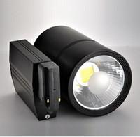 Wholesale Super Quality W LED TrackLight COB Angle Adjustable TrackRail V V AC for Hotel Lobby Decoration Luminaire