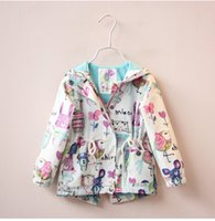 Wholesale New baby girls jacket casual hooded outerwear girls coat vest winter kids clothing children jackets for girls fashion cardigan